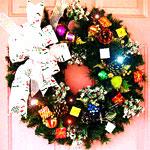 Animated Christmas Wreath