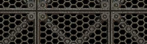 Floor Metal Plate Texture
