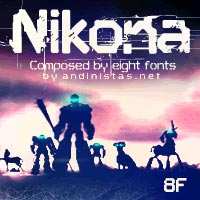 Nikona font