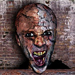 Rotten face