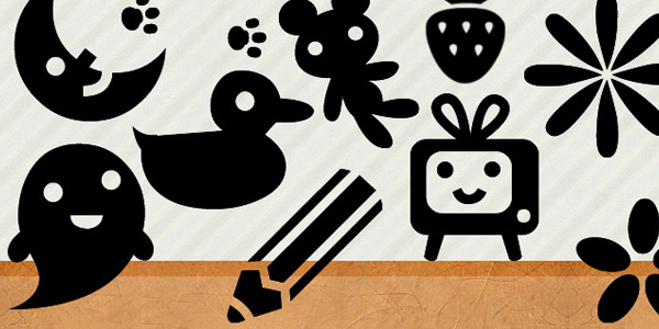 Photoshop brushes for kids