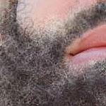 painting a beard