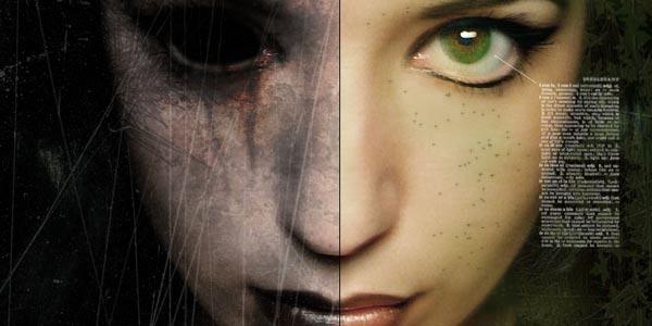creative portrait effects photoshop tutorials