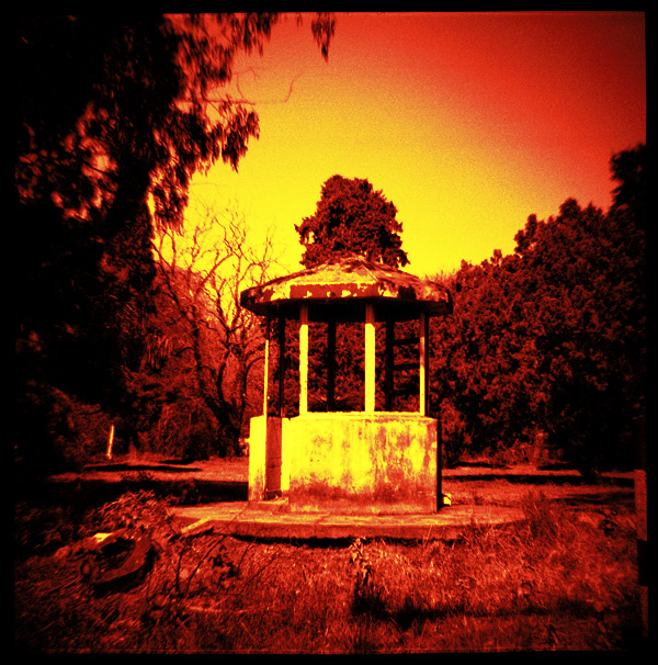 redscale effect