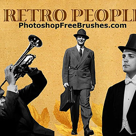 Photoshop retro brushes
