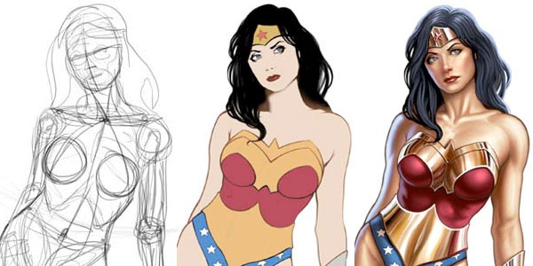 wonder woman wallpaper. Wonder Woman Pin Up Digital