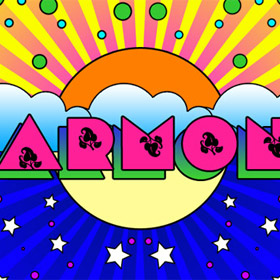 Peter Max artwork in Photoshop
