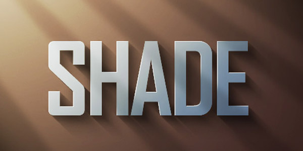 Shaded Text Effect